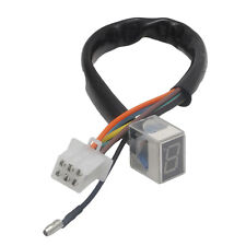 7- Line Modified Motorcycle LED Digital Gear Indicator Shift Lever Sensor- Red