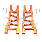 GPM Racing Aluminum Front Lower Arms Orange : 4x4 Granite / Big Rock