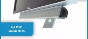 Dell AS501 Sound Bar Dell LCD Monitor Multimedia Speaker 10 Watt wired