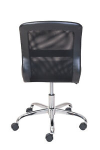 Product Title Mainstays Vinyl and Mesh Task Office Chair, Multiple Colors