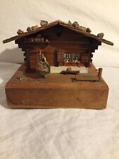 Vintage Reuge Swiss Musical Movement Music Jewelry Box Song Of Weggis Working