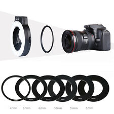 K&F Concept KF-150 Macro Ring i-TTL Speedlite Flash w/ 6 Adapter Rings for Nikon