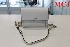 'New Never Used' - DKNY Mini Flap Crossbody Winter White Saffiano Leather