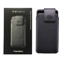 BlackBerry Nappa Leather Belt Clip Swivel Holster Case For BlackBerry DTEK50