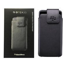 BlackBerry Leather With Swivel Holster Clip Case For BlackBerry DTEK50 - Black