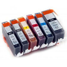 12x Ink Cartridges PGI520 CLI521 with Grey for CANON Pixma MP980 MP990 Printer