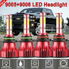 9005 9006 LEDHEADLIGHT BULB FOR 94-98 Chevy C/K Pickup Silverado Suburban Tahoe
