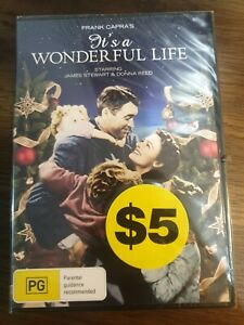 Its A Wonderful Life DVD - James Stewart, Donna Reed NEW SEALED *FREE SHIPPING*