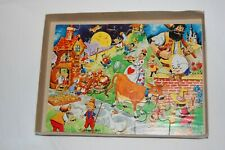 Child's wooden nursery rhyme jigsaw 20 pieces