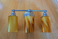 Vintage 70's Retro-Style Melted Colors Light Fixture!