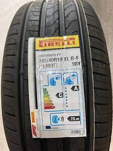 1 X 245/40 R19 Pirelli Cinturato P7 Runflat 98Y R-F,XL (*)(MOE) Brand New Tyre