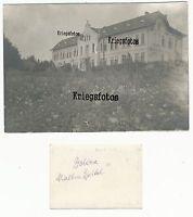 Dolina ? Malteser Gebäude beschriftet Ort Haus siehe Fotokarte Alt 1 WK