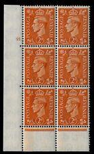 1941 2d Arancione Pallido CILINDRO 55 DOT unmounted Nuovo di zecca V75620