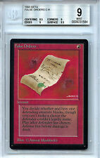 MTG Beta False Orders  BGS 9.0 (9) Mint card Magic The Gathering Amricons1584