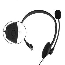 Headset Earphone Headphone Black W/MIC W/Volume Audio For Xbox 360 Live Xbox360