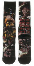 FIVE NIGHTS AT FREDDY'S PREMIUM CREW SOCKS MENS SUBLIMATED ALL OVER PRINT ITS ME