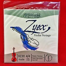 D 'addario zyex violin Strings-dz311 4/4 - einzelsaite e-Heavy tension