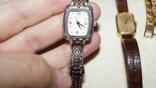 7 VINTAGE LADIES DESIGNER WATCHES GENEVA,SEIKO,GRUEN,LONGUNE,ROXY,NOV - RARE!!