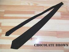 WW2 US Officers Service Uniform chocolate brown TIE / Schlips Krawatte