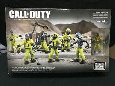 Mega Bloks Call of Duty Hazmat Zombies Mob V1 Collectors #CNC70 VHTF retired set