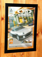 2002 TD Overdrive The Brotherhood of Speed Small Poster / Old Ad Page Framed PS2