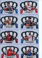 2019-20 Panini Crown Royal Basketball Base Singles #'s 1-100 - Pick Your Players