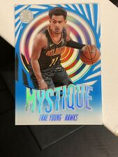2019-20 Panini Illusions Trae Young Mystique Emerald BLUE SAPPHIRE #16 MINT! 🔥
