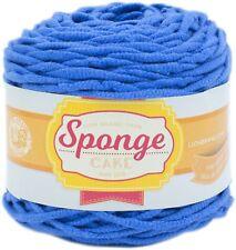 Lion Brand Sponge Cake Yarn-Royal Blue