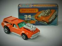 MATCHBOX LESNEY SUPERFAST VANTASTIC No.34 MINT IN VNM ORIGINAL K BOX 1975
