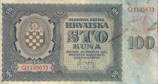 Croazia/Croatia 100 Kuna 1941 p.2 (3)