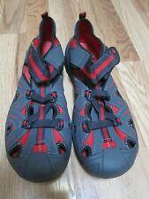 EUC Kids Merrell Red & Gray Hydro Waterproof Sandal - size 7W
