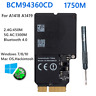 For Broadcom BCM94360CD pc wifi Card 802.11ac WiFi BT4.0 For Mac Hackintosh wifi