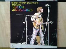 disque vinyle lp John Sebatian.Real Live.(Lovin Sponful)
