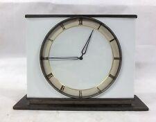 VINTAGE 1930's ART DECO GERMAN BRONZE DESK CLOCK POSSIBLE KIENZLE WORKING