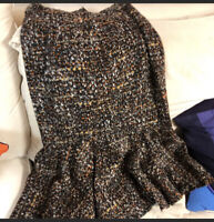 Dolce & Gabbana Boucle Skirt New Last Drop