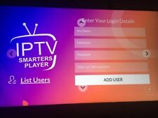Ip tv Smarters Subscription Smart Tv Android Apple Premium Internet Tv Lg Tv