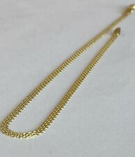 10k ITALY Yellow Gold Ankle Bracelet Chain  Anklet Ladies Women Teen