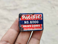 1950s Vintage Pacific No. 8000 Valve Cores International Standard Tin Box Japan