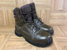 "RARE🔥 Danner Sojourner 7"" Gore-Tex Women's 8 Steel Toe Hiker Biker Boots Brown"