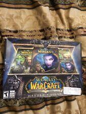 World of Warcraft: Battle Chest (PC, 2004-2010) Windows Mac Schlüssel Handbücher CDs