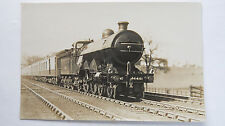 1930s Vintage Postcard Steam Train The Up Queen Of Scots #4461 At Hadley Wood