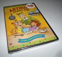 Arthur Arthur's Family Fun (DVD NEW) WGPH PBS Series Kids Film 3 Episodes
