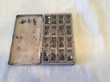 Allock of England Fly Box with Sixteen Windows & 30 Plus Quality Flies B21