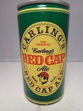 RED CAP ALE CARLING ALUMINUM PULL TAB BEER CAN 112-40-B   NATICK, MASSACHUSETTS