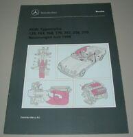 Werkstatthandbuch Mercedes R 129 SL W 163 168 R 170 SLK 202 208 210 Neuerungen!