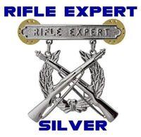 Rifle Expert Marine Corps Weapons Qualification Badge USMC