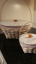 Longaberger Century 2000 Easter baskets- large and small