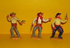 Timpo 3x Cowboy G2 Wildwest Western Figur Gangster Toys (12)