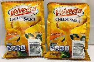 2 Packs Of Velveeta Cheese Sauce Packet Creamy Original Flavor 4 oz