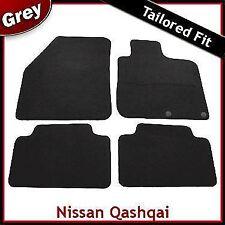 NISSAN QASHQAI Mk1 5-Seater 2007-2014 Tailored Carpet Car Floor Mats GREY